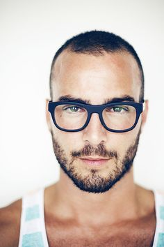 nice glasses  #men // #fashion // #mensfashion