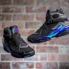 "Preorder the Nike Air Jordan 8 Retro ""Aqua""  Order here  KICKBACKZNY.com   Questions?  Please email or text us! (we DO NOT respond to comments/DMs) info@kickbackzny.com 516-323-0083"