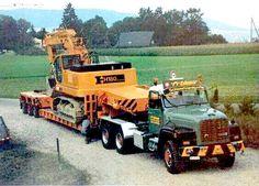 ○ Saurer | [©2017 correction by Supertick57] •1♥41• Semi Trucks, Old Trucks, Heavy Duty Trucks, Classic Trucks, Fiat, Tractors, Jeep, Transportation, Monster Trucks