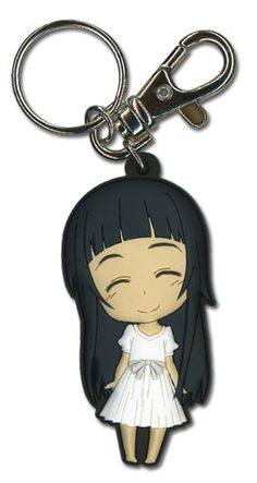 Sword Art Online Key Chain - Chibi Yui Eyes Closed Smile @Archonia_US
