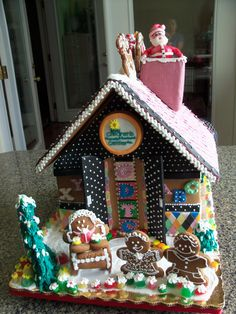 #gingerbread #gingerbread house #christmas house  #candy house