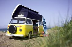 vw buses you can hire and take on a crosscountry trip in the u.k.