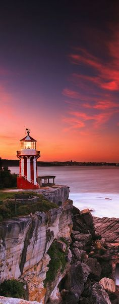 ~ Hornby #Lighthouse - Sydney, #Australia http://dennisharper.lnf.com/