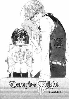 Vampire Knight 21 página 1 - Leer Manga en Español gratis en NineManga.com