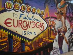 Tourism:Collaterals | Welcome to fabulous €uroVegas / iS PAIN.