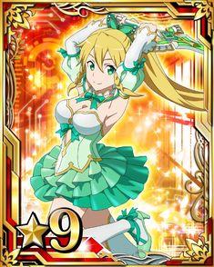 Sword Art Online - Leafa Sword Art Online Weapons, Leafa Sword Art Online, Leafa Sao, Asuna, All Anime, Manga Anime, Online Cards, Arte Online, Female Anime