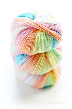 lovely colorful yarn... what to use it for?