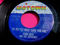 DIANA ROSS & SUPREMES - No Matter What Sign You Are - clean 45 rpm #Motown