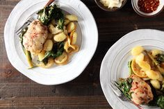 Sheet Pan Chicken and Gnocchi with Broccoli Rabe