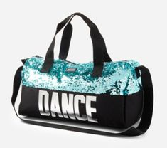 Justice Girl's Dance Sequin Bling Duffle Sparkle Tote Bag Christmas Gift for sale online Dance Bag Duffle, Backpack Bags, Tote Bag, Duffel Bags, Polka Dot Backpack, Black Dancers, Kids Mma, Fit Black Women, Ballet