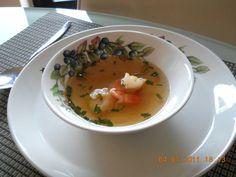 Sherry Bouillon Met Gamba`s recept   Smulweb.nl