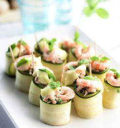 Shrimp rolls for brunch - Katkarapukääröt sopivat yo-juhlien tarjottaviksi, resepti – Ruoka.fi