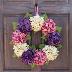 Easter Dawn Theme Hydrangea Wreath Flowers IN/OUTDoor Hanging Spring Floral Swag. Hues/Colors may also slightly differ from images depicted due to lighting or differences in computer resolutions. Overall Dimensions: 14.0 in. | eBay!