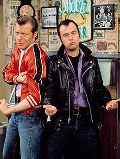 Lenny and Squiggy