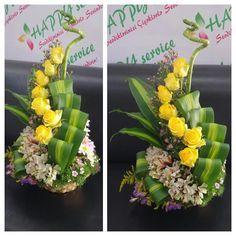 (99) Одноклассники Creative Flower Arrangements, Funeral Flower Arrangements, Rose Arrangements, Beautiful Flower Arrangements, Beautiful Flowers, Church Flowers, Funeral Flowers, Flower Bouqet, Flower Vases