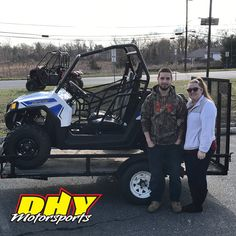 Congrats Eric, from #Millville on his purchase of this 2017 #Polaris #RZR570 Enjoy off-road experience on any terrain. Thank you for making your purchase at #DHYMotorsports #Clicktohelpmewinagiftcard #mynewride