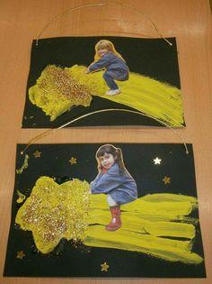 The universe The universe - Oscar Wallin Space Preschool, Preschool Crafts, Projects For Kids, Art Projects, Crafts For Kids, Christmas Art, Winter Christmas, Natal Diy, Space Theme