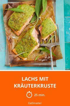 Verfeinere doch mal deinen Lachs mit einer Bärlauchkruste!