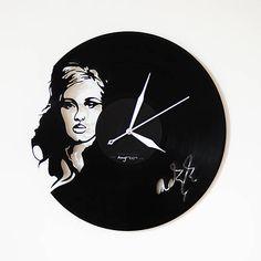 anynOOn / Adele ( Laurie Blue Adkins ) - vinylové hodiny na LP