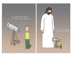 Jesus is so close