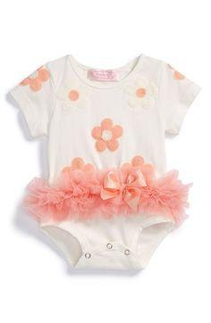 Popatu Tutu Bodysuit (Baby Girls) available at #Nordstrom