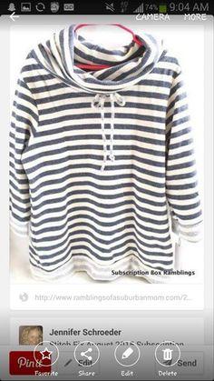 Like the stripes!
