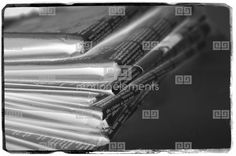 Close Up Shot Folded Newspapers Film Negative. Copyspace Stock Footage | Royalty-Free Stock Photo Library | 10342348