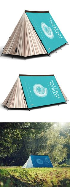 Fully booked tent... haha!
