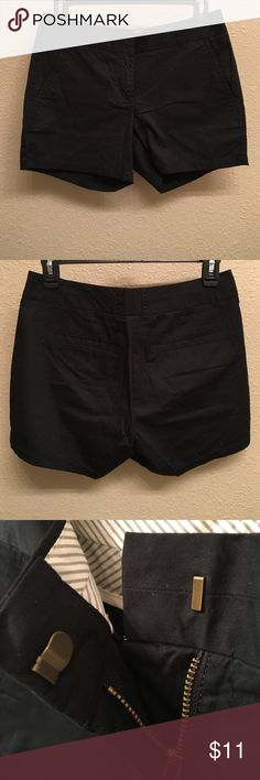 "J. Crew chino shorts [NWOT] 4"" inseam black chino shorts. 2 front functional pockets. Back faux pockets. Never worn brand new W/O tags! J. Crew Shorts"