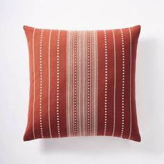 Bed Rest Pillow, Pillow Texture, Studio Mcgee, Blue Throw Pillows, Pillow Design, Accent Pieces, Decorative Pillows, Target, Rust