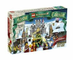 """LEGO Kingdoms Exclusive Set #7952 2010 Advent Calendar by LEGO. $64.99. 10-PK 4"""" 1/4 Circle Pop-up Sprinklers 7952. bCountdown to the holidays with LEGO Kingdoms!/bCelebrate 24 December days full of medieval builds! Theres a surprise in store for you every morning as you decorate the LEGO Kingdoms with new exclusive holiday accessories every day.    * Open each window containing a build for December 1st through December 24th!    * Contains 24 LEGO Kingdoms themed builds..."""