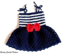 Crochet Dress Patterns for Toddlers