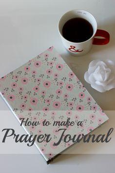 how to make a prayer journal