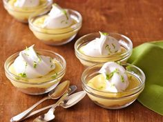 Recipe of the Day: The Pioneer Woman's Individual Key Lime Pies Simply layer individual portions of all the elements — buttery graham cracker crumbs, rich creamy lime curd and a dollop of homemade whipped cream — and you'll have a pie-ish treat you can eat up with a spoon.