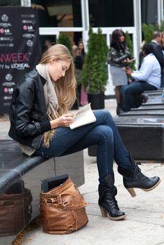 Toronto Fashion Week | On the streets in Toronto.  Photo by James Lourenco