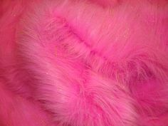 "Fur Faux fake Hot Pink  Sparkle Faux Fur Fabric Per Yard 60"" wide by fabulessfabrics on Etsy https://www.etsy.com/listing/123169065/fur-faux-fake-hot-pink-sparkle-faux-fur"