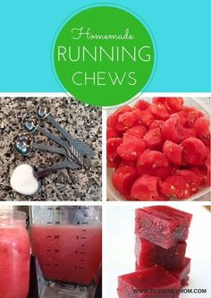 Homemade Running Chews for quick fuel!
