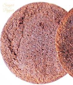 Estrade's cakes: bizcocho trufado de chocolate, receta (perfecto para tartas con fondant)