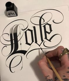 Image may contain: one or more people Tattoo Lettering Styles, Graffiti Lettering Fonts, Chicano Lettering, Hand Lettering Alphabet, Graffiti Alphabet, Tattoo Fonts, Lettering Design, Lettrage Chicano, Chicano Tattoos