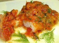 Рыба тушеная в томате с овощами рецепт | Готовим рецепты