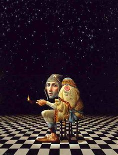 """""""One Light"""" by James Christensen http://www.jameschristensenart.com/"""
