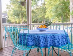 This screened in porch is amazing and has so many inexpensive decor finds and inspiration for creating an inviting outdoor room this summer! Outdoor Rooms, Outdoor Furniture, Outdoor Decor, Porch Makeover, Screened In Porch, My House, Patio, Porch Ideas, Create