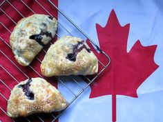 Blueberry Bridies for Canada Day