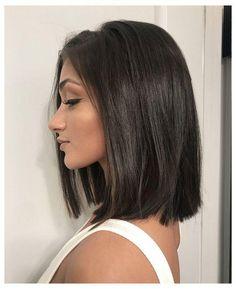 Medium Hair Cuts, Short Hair Cuts, Medium Hair Styles, Short Hair Styles, Brown Hair Medium Length, Dark Brown Short Hair, Thick Short Hair, Short Hair Lengths, Women Hair Cuts