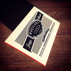 Wheelers Studio Metal Business Card | Business Cards | The Design Inspiration