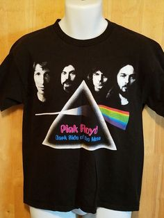 Classic Pink Floyd ~ The Dark Side of the Moon ~ Concert T-Shirt