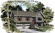 House Plan chp-17804 at COOLhouseplans.com   Total living area: 1428 sq ft, 3 bedrooms & 2 bathrooms.