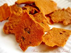 Raw on $10 a Day (or Less!): Raw Food Recipe: Raw Cheez-Its