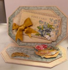 DCWV Card by Clare Charvill The Primrose Stack
