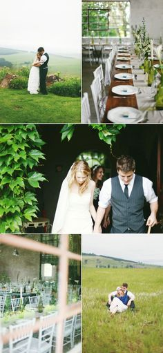Stunning South African wedding WITH arum lilies... Perfection